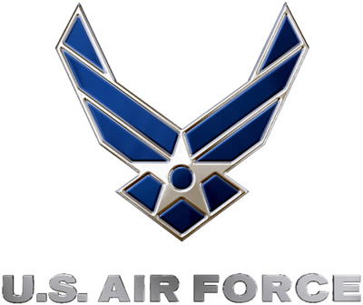 Logo for: US Air Force